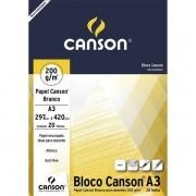 Papel cartão 20 fls A3 200G Canson