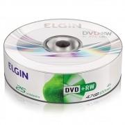 DVD-RW 4.7gb 25 un Elgin