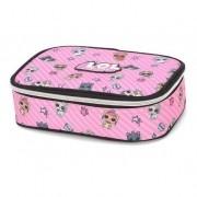 Estojo escolar box lol rosa Luxcel
