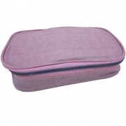 Estojo escolar box rosa claro Daterra