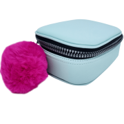 Estojo escolar box verde pastel Fizz