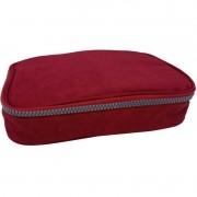 Estojo escolar box vermelho Daterra