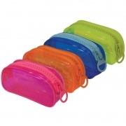 Estojo escolar simples colorido Bubble Dac