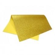 EVA glitter 40x60 amarelo Dubflex