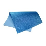 EVA glitter 40x60 azul Dubflex