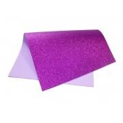 EVA glitter 40x60 roxo Dubflex