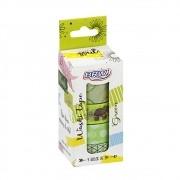 Fita adesiva Washi Tape green 5 un Brw