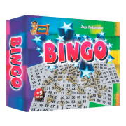 Jogo bingo peças de madeira 48 cartelas Uriarte
