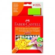 Lápis de cor 12 cores JUMBO Faber-Castell