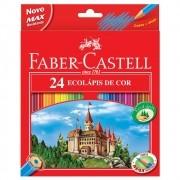 Lápis de cor 24 cores Faber-Castell