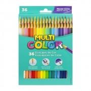 Lápis de cor 36 cores Multicolor