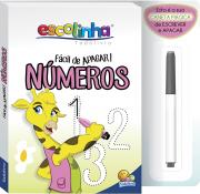 Livro infantil atividades Números fácil de apagar Todolivro