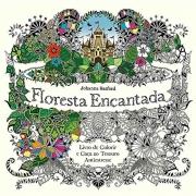 Livro para colorir floresta encantada Sextante
