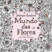Livro para colorir mundo das flores Sextante