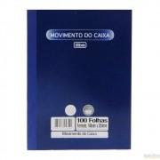 Livro movimento do caixa 1/4 100 folhas Tilibra