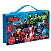 Maleta de pintura Avengers 42 itens Molin