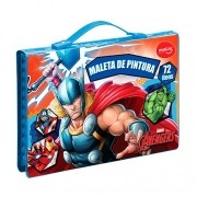 Maleta de pintura Avengers 72 itens Molin
