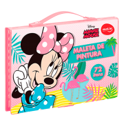 Maleta de pintura Minnie 72 itens Molin