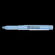 Marca texto azul pastel Faber-Castell