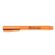 Marca texto laranja pastel Faber-Castell