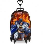 Mochila escolar de rodinha tripla 3D Batman Diplomata