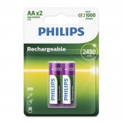 Pilha AA recarregável 2 un Philips