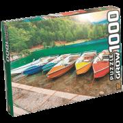 Quebra-cabeça 1000 peças lagos de fusine Grow