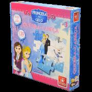 Quebra-cabeça 30 peças Princesa do Gelo Brincadeira de Criança
