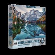 Quebra-cabeça 500 peças Alpes Italianos Game Office