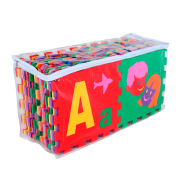 Tapete EVA alfabeto 56 peças Carlu