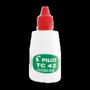 Tinta carimbo vermelho 42ml TC-42 Pilot