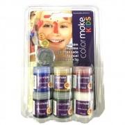 Tinta facial 15ml 6 cores Colormake