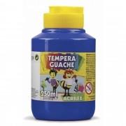 Tinta guache 250 ml azul turquesa Acrilex
