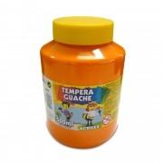 Tinta guache 500 ml laranja Acrilex