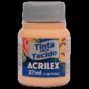 Tinta tecido 37ml amarelo pele Acrilex
