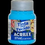 Tinta tecido 37ml azul celeste Acrilex