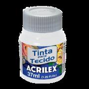 Tinta tecido 37ml branco Acrilex