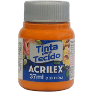 Tinta tecido 37ml cenoura Acrilex