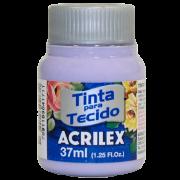 Tinta tecido 37ml lilás Acrilex
