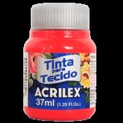 Tinta tecido 37ml vermelho natal Acrilex