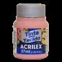 Tinta tecido 37ml rose Acrilex