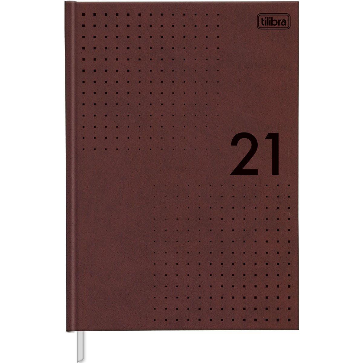 Agenda 2021 costurado 176 fls Pratika Master M6 Tilibra