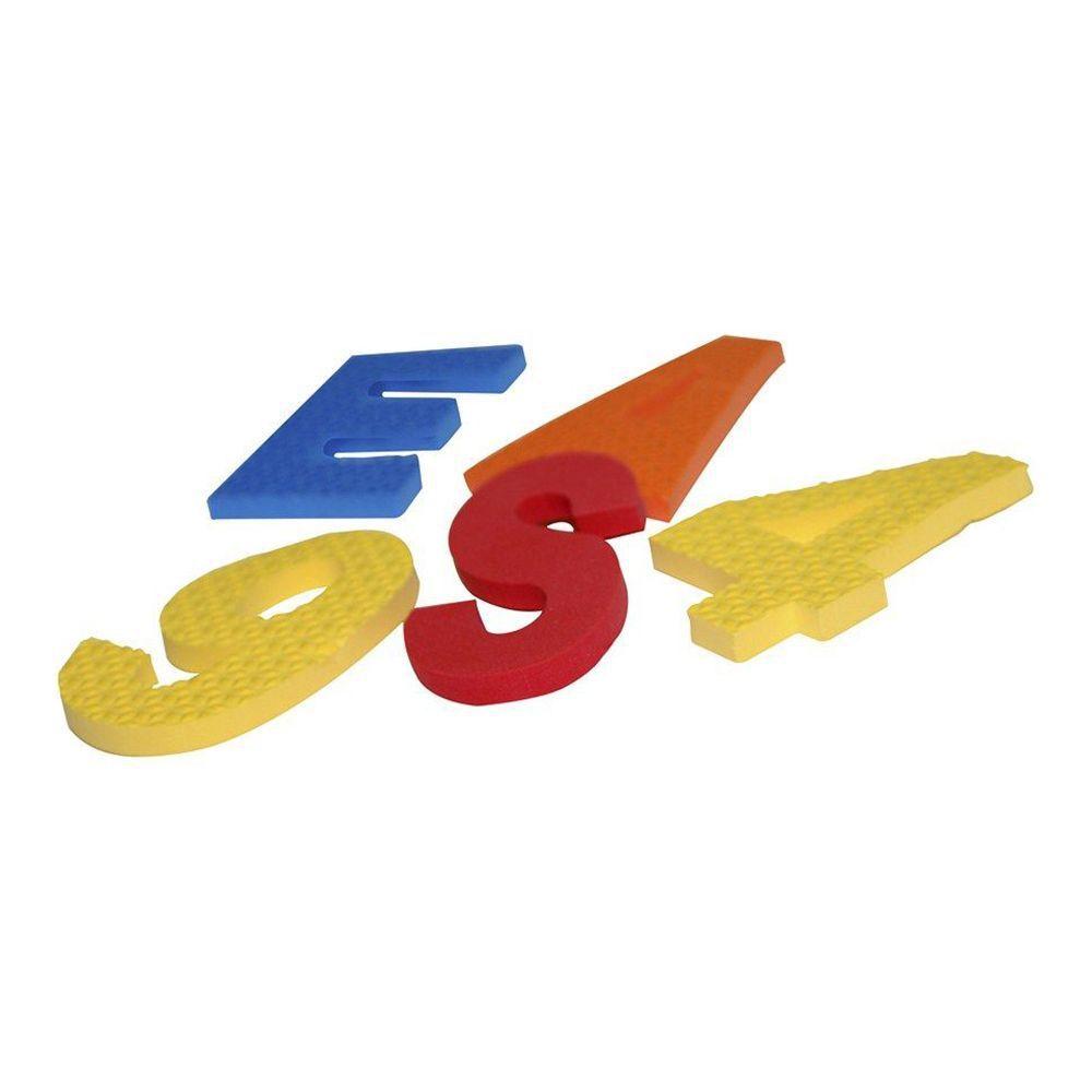 Alfabeto móvel 46 peças Carlu