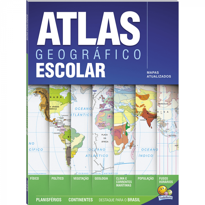 Atlas geográfico escolar Todolivro