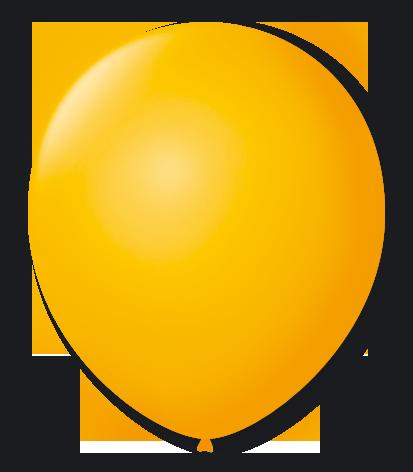 Balão n°7 50 un amarelo sol São Roque