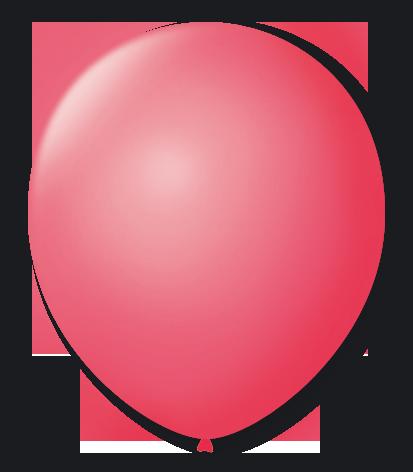 Balão n°7 50 un rosa pink São Roque