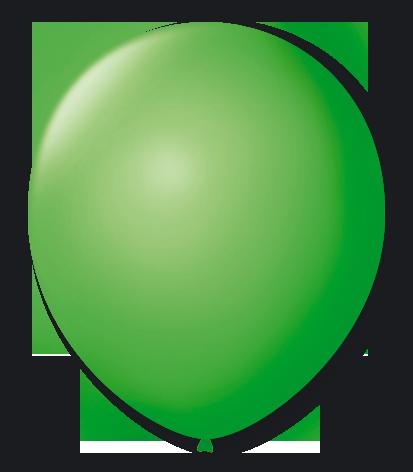Balão n°7 50 un verde maça São Roque