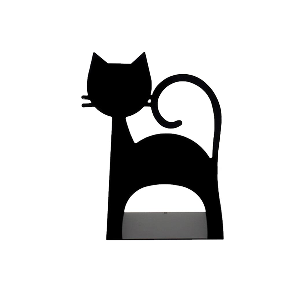 Bibliocanto gato preto Geguton