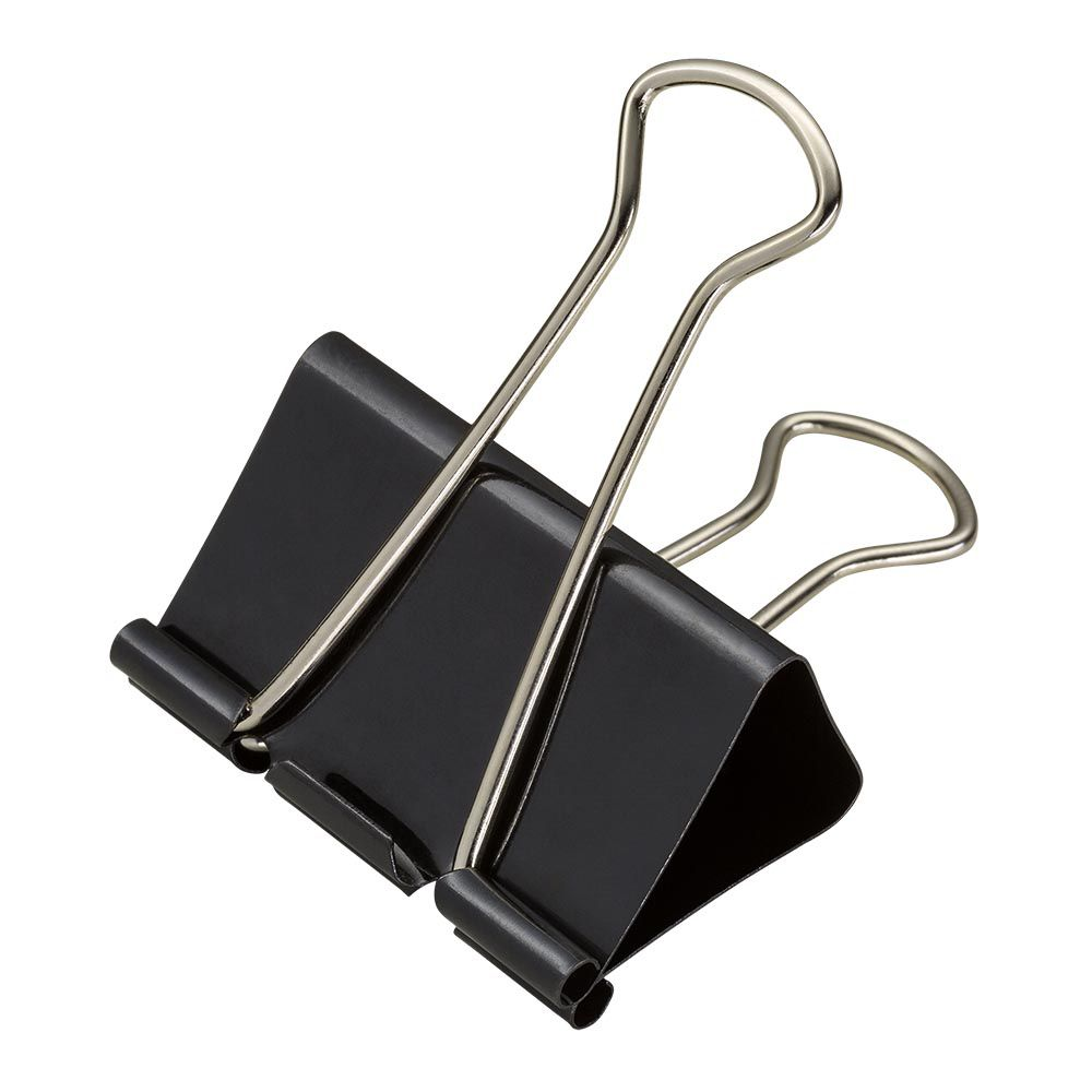 Binder clips 41 mm 24 un Brw
