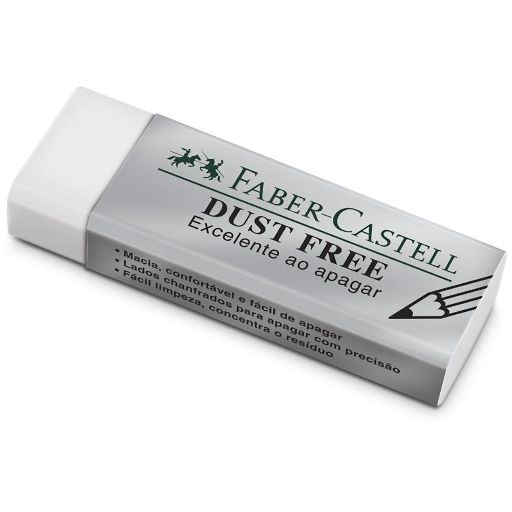 Borracha branca DUSTFREE Faber-Castell